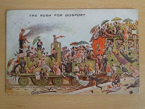 Gosport Postcard