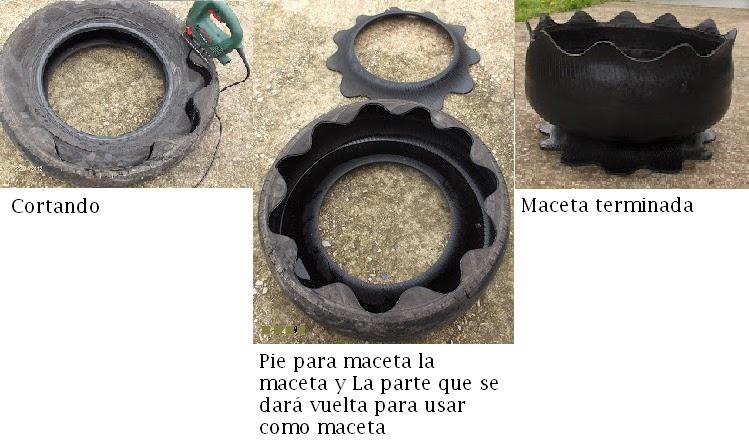 Una Llanta De Automovil  Reciclar Una Rueda De Automovil  Reciclar Un