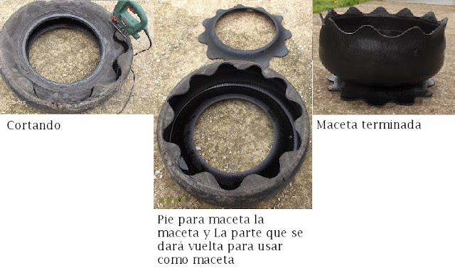 reciclar una llanta de automovil, reciclar una rueda de automovil, reciclar un neumático de automovil, reciclar neumáticos, reciclar llantas, reciclar ruedas de vehículos, reciclaje, bricolaje, manualidades, macetas, bonitas macetas, maceteros hechos en casa, como hacer una maceta, como hacer maceteros, maceteros de hule, macetas de hule, manualidades faciles, pasos para hacer una maceta