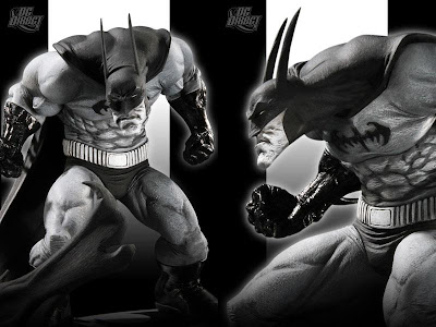 DC Direct - Batman: Black & White Statue by Sam Kieth