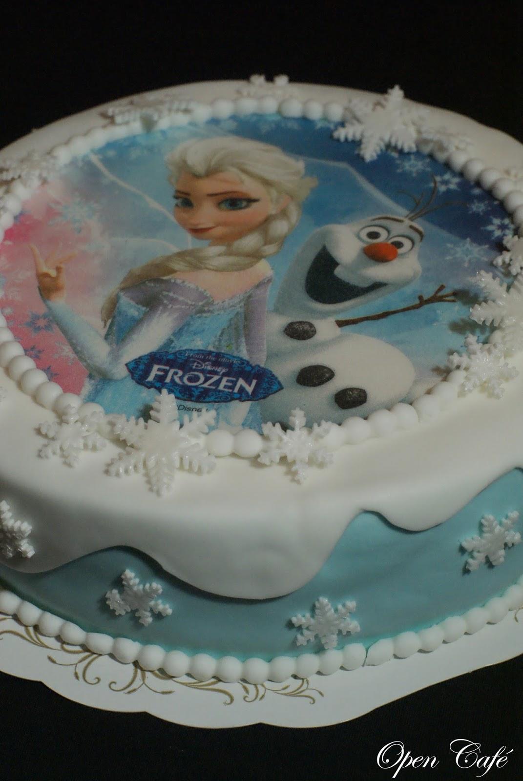 frozen kakkukoriste Varkaus