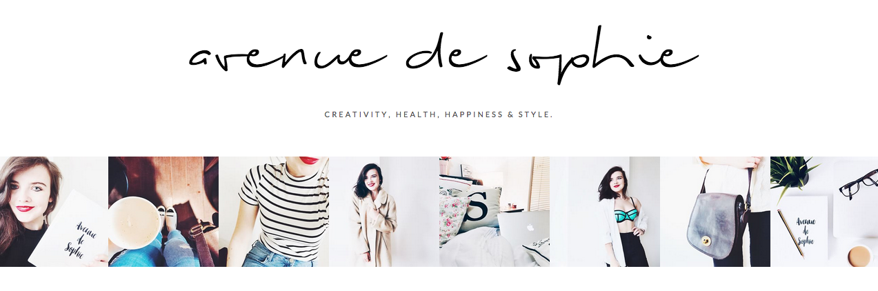 Avenue De Sophie A Blog I Love When Feeling... CREATIVE