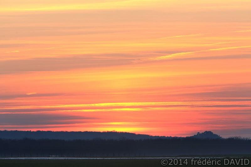 campagne silhouette coucher soleil Seine-et-Marne