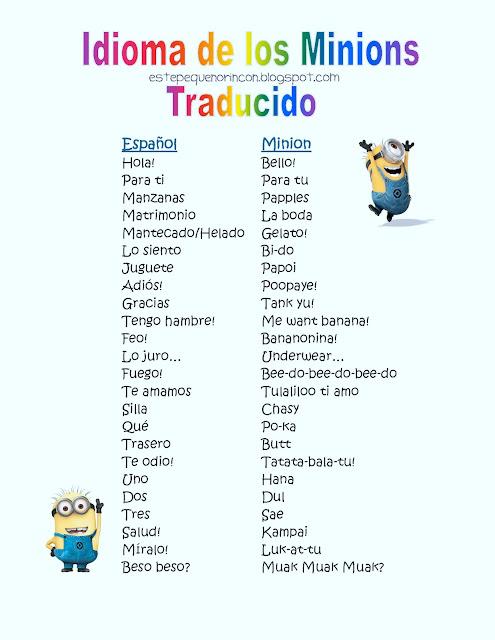 idioma spanish:
