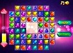 Puzzle match 3 de gemas