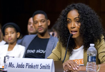 Jada Pinkett Smith Fights Against Human Trafficking