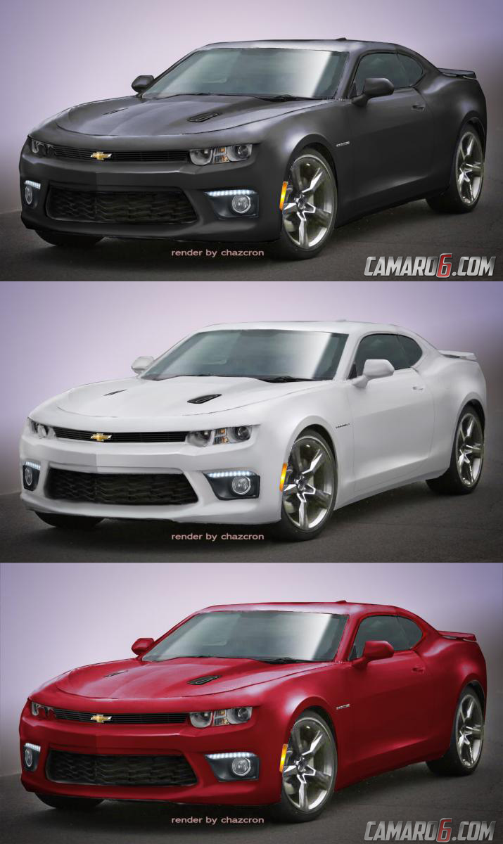 New 2016 Camaro Renders Attempt To Decipher Design Think