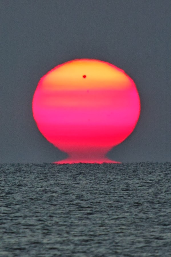 A sunrise with Venus