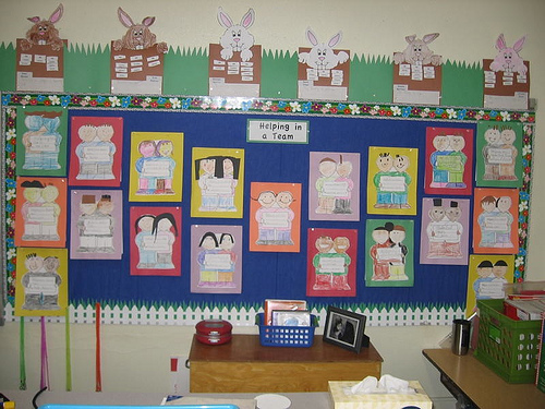 Classroom Decoration Ideas Pictures ~ Decorating ideas classroom kindergarten home design