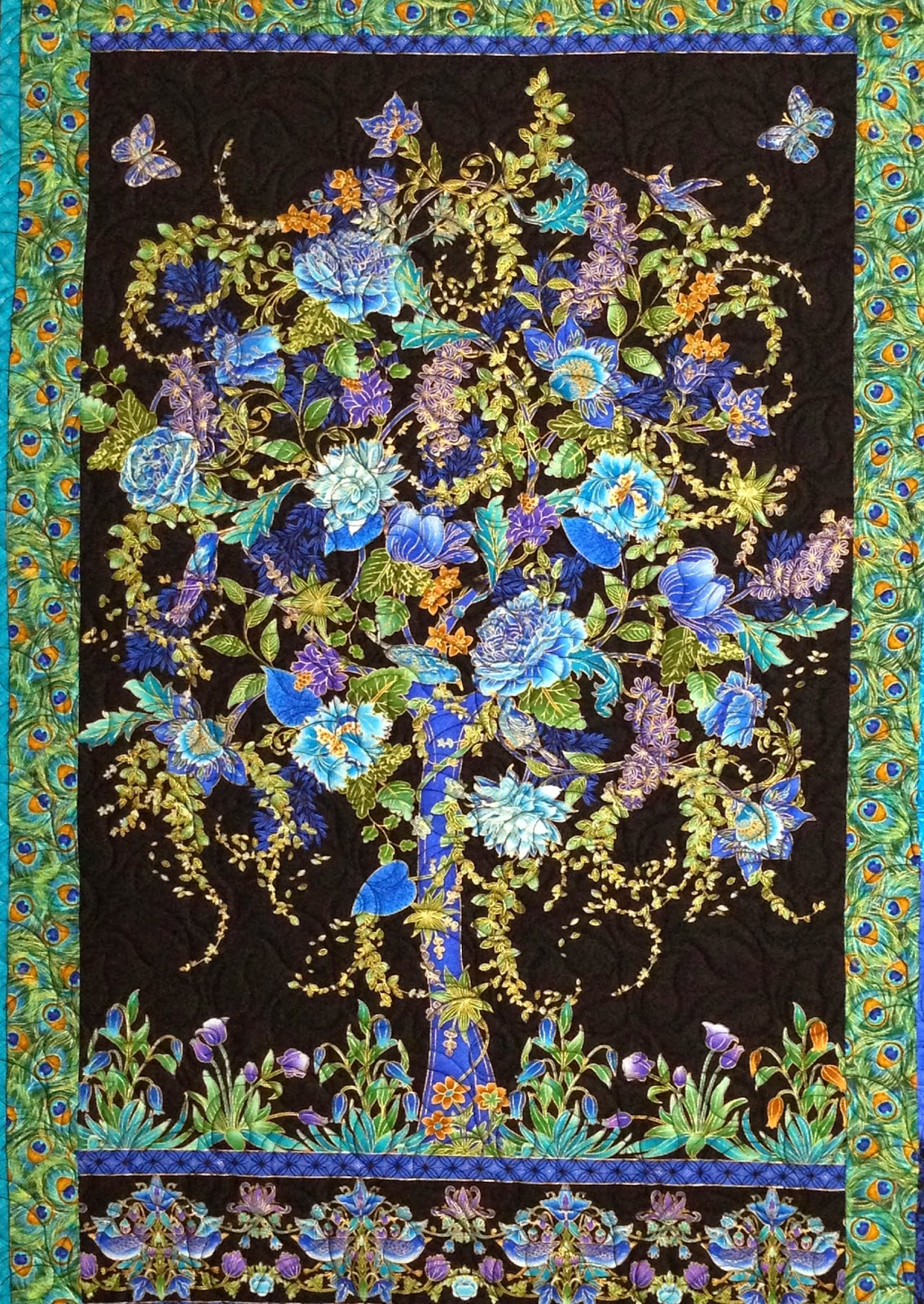 Leanne Strum Tree of Life Quilt