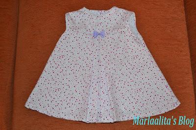 Vestido bebé, costura, tutorial, diy