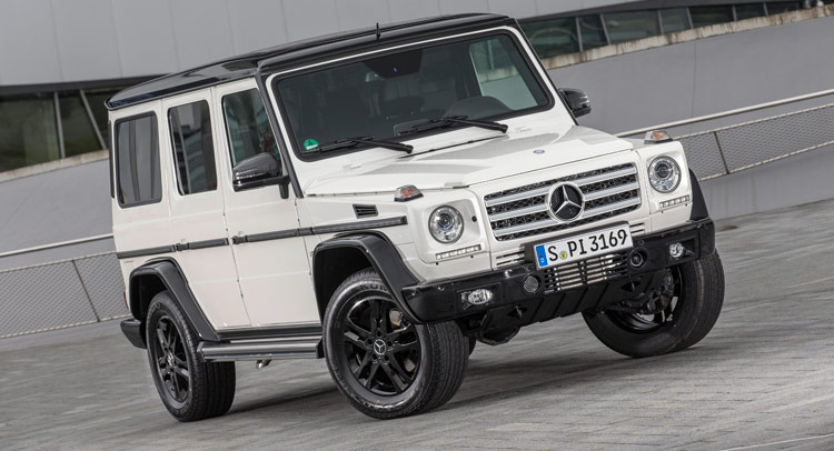 carscoops mercedes g class - White G Wagon Red Interior