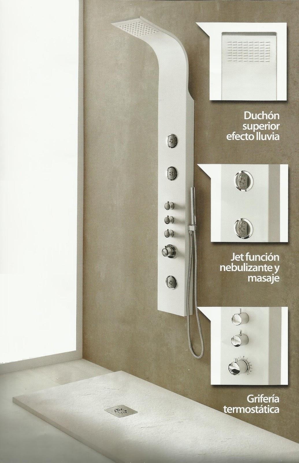Saro materiales y construcciones s l termost tica isseo for Ducha efecto lluvia precio