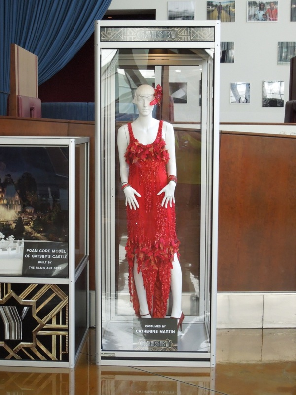 Great Gatsby red party dress