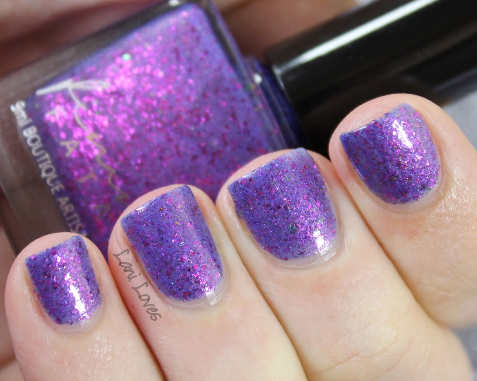 Femme Fatale Cosmetics - Bodice Lace nail polish swatches & review