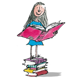Matilda by Roald Dahl - Image by Quentin Blake