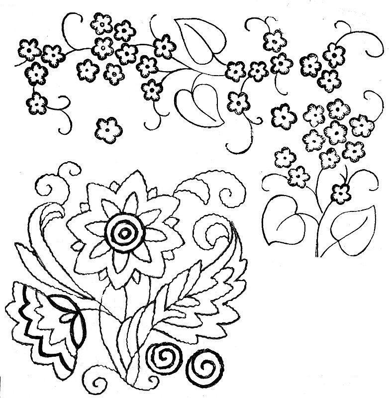 Трафареты для вышивки бисером 713