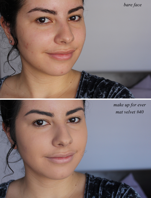 Review Make Up For Ever Mat Velvet Foundation The