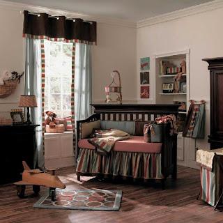 habitación colorida bebé