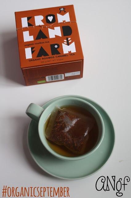 Kromland Farm's Caramel Rooibos Tea for #OrganicSeptember from Anyonita-nibbles.co.uk