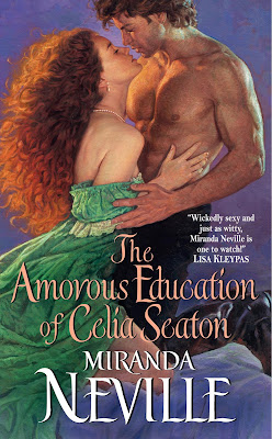 Book cover of The Amorous Education of Celia Seaton by Miranda Neville