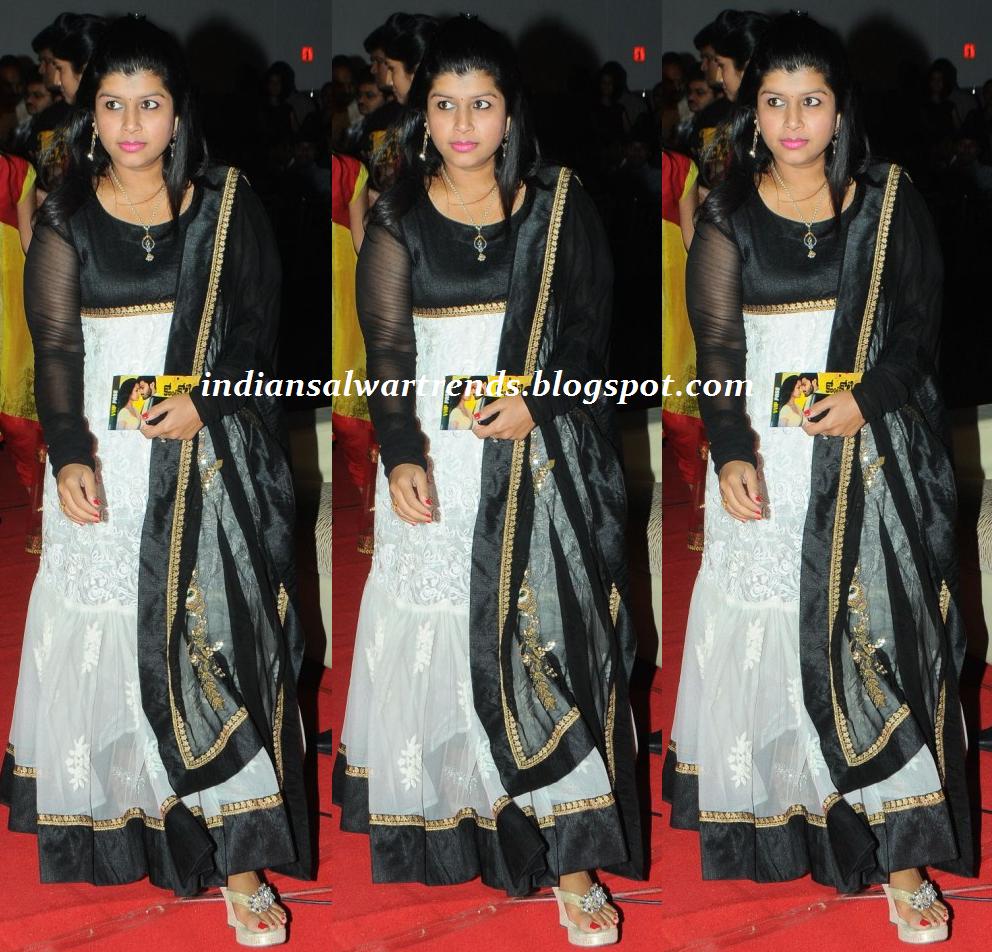 Black and White Dress Salwar