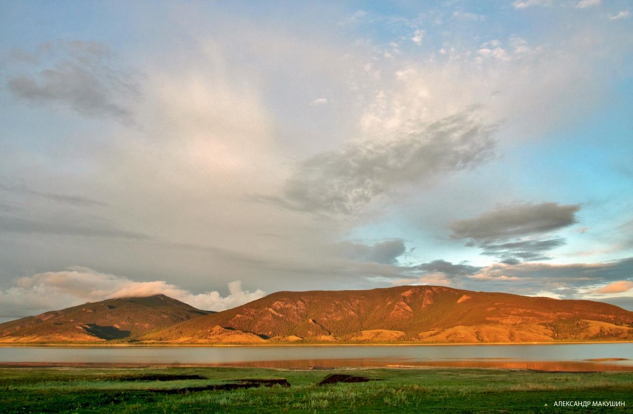 Озеро Малое Чебачье. Казахстан.