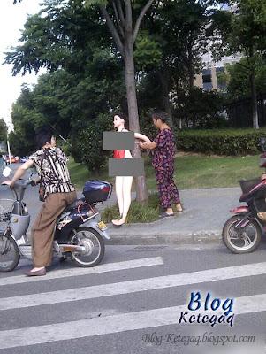 patung selesaikan masalah trafik