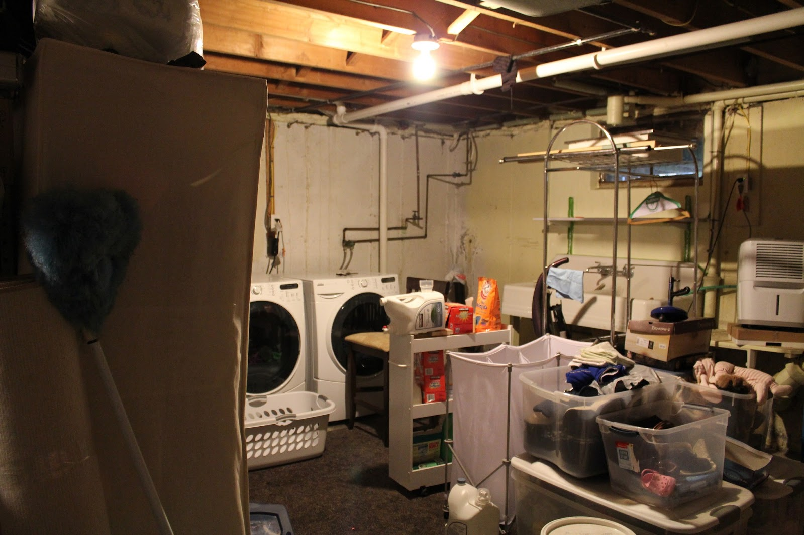 laundry room redo get it all off the floor