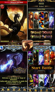 Rage of Bahamut in Browser