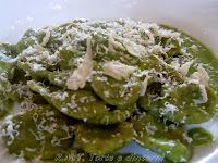 Cappelletti verdi con Parmentier al Mallone