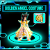 Lostsaga rare gear : Golden Angel Costume,Phoenix Circlet, Golden Angel Wing