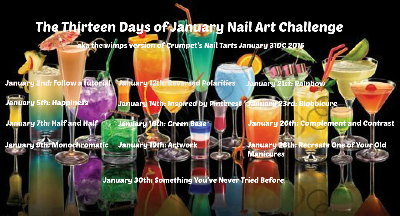 13 Days of January Nail Art Challenge
