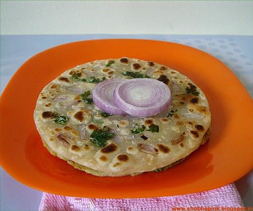 Tandoori Pyaaz Kulcha