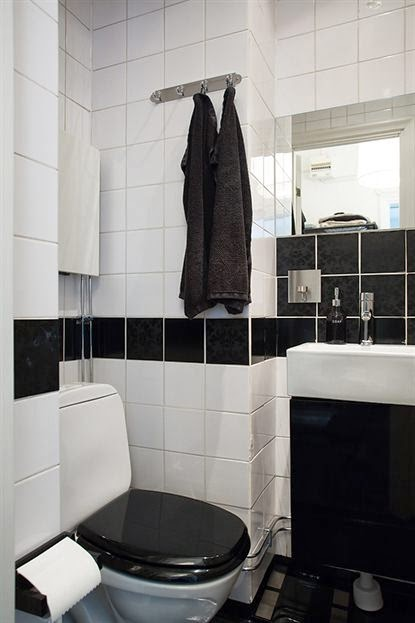amenajari, interioare, decoratiuni, decor, design interior, garsoniera, spatii mici, scandinav, baie