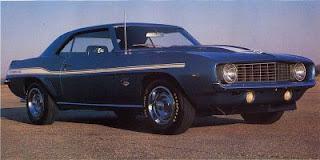Classic Muscle Car 1969 Yenko Camaro