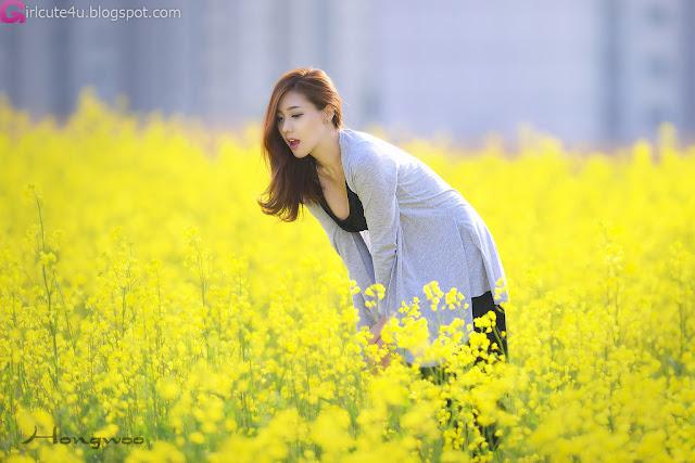 1 Another Kim Ha Yul Outdoor- very cute asian girl - girlcute4u.blogspot.com