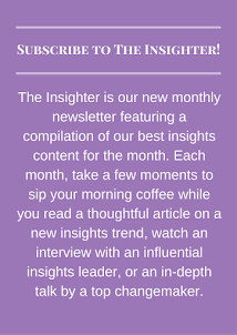 Subscribe to The Insighter Newsletter