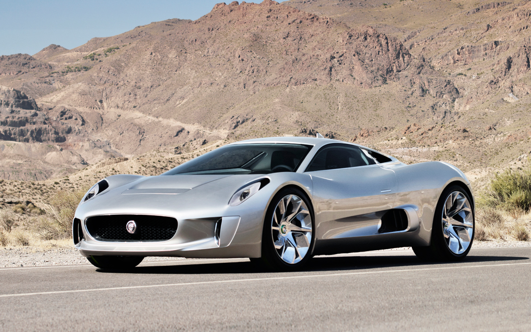 super cars jaguar c x75. Black Bedroom Furniture Sets. Home Design Ideas