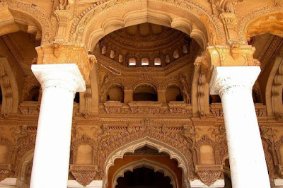 Mix of Islamic and Dravidian Architecture