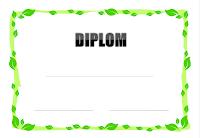 Diplomy, pamětní listy a certifikáty pro děti ke stažení a vytisknutí zdarma