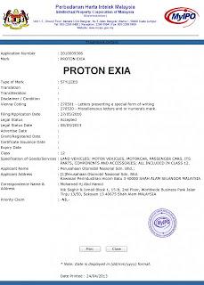 proton exia