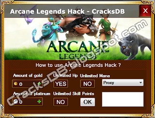 Arcane Legends Hack Free Public Release