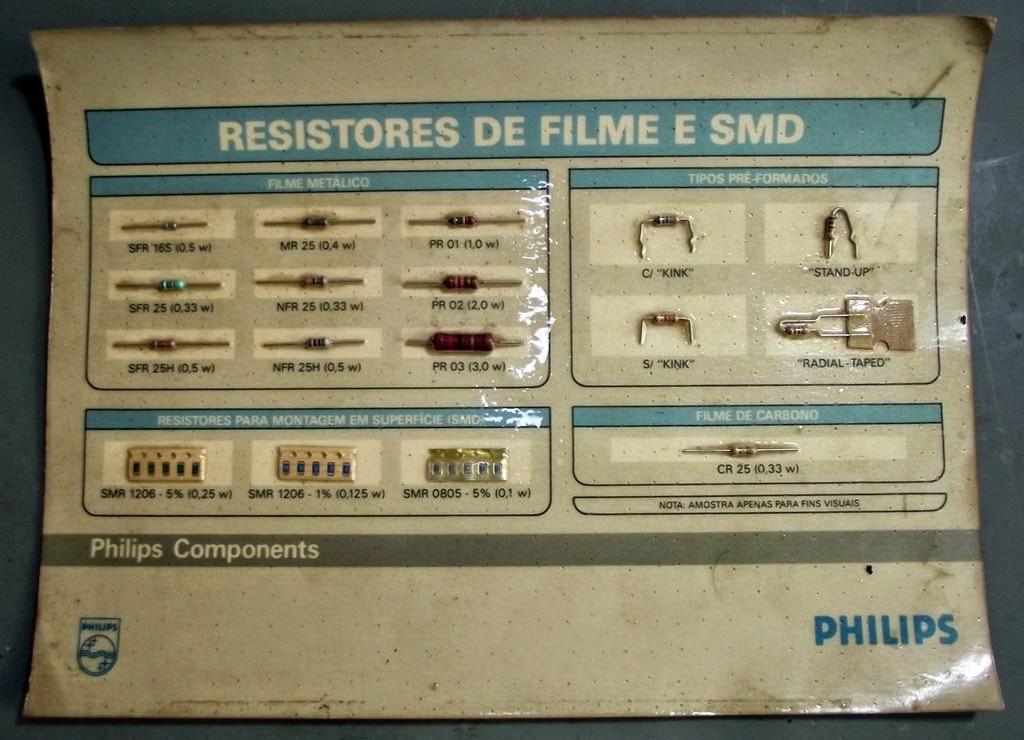 Resistores Philips
