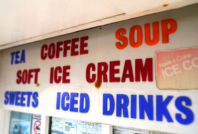 Retro Ice Cream Stall Sign