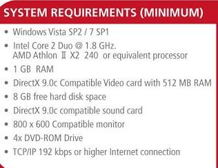 Spesifikasi Minimum PC Untuk PES 2014