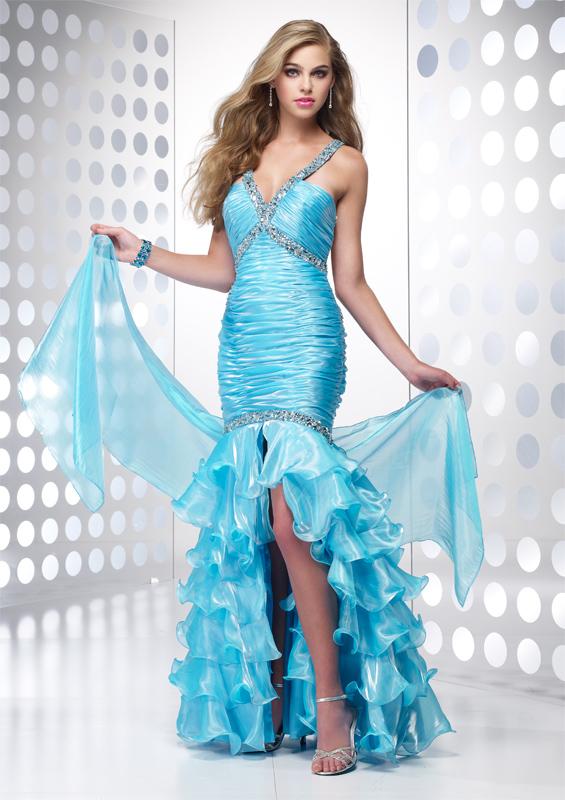 Ruffle Prom Dresses 19
