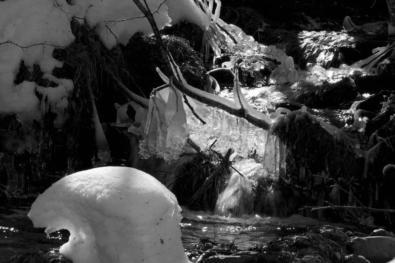 PN Aigüestortes i Estany de Sant Maurici, nieve, Planes de Son,