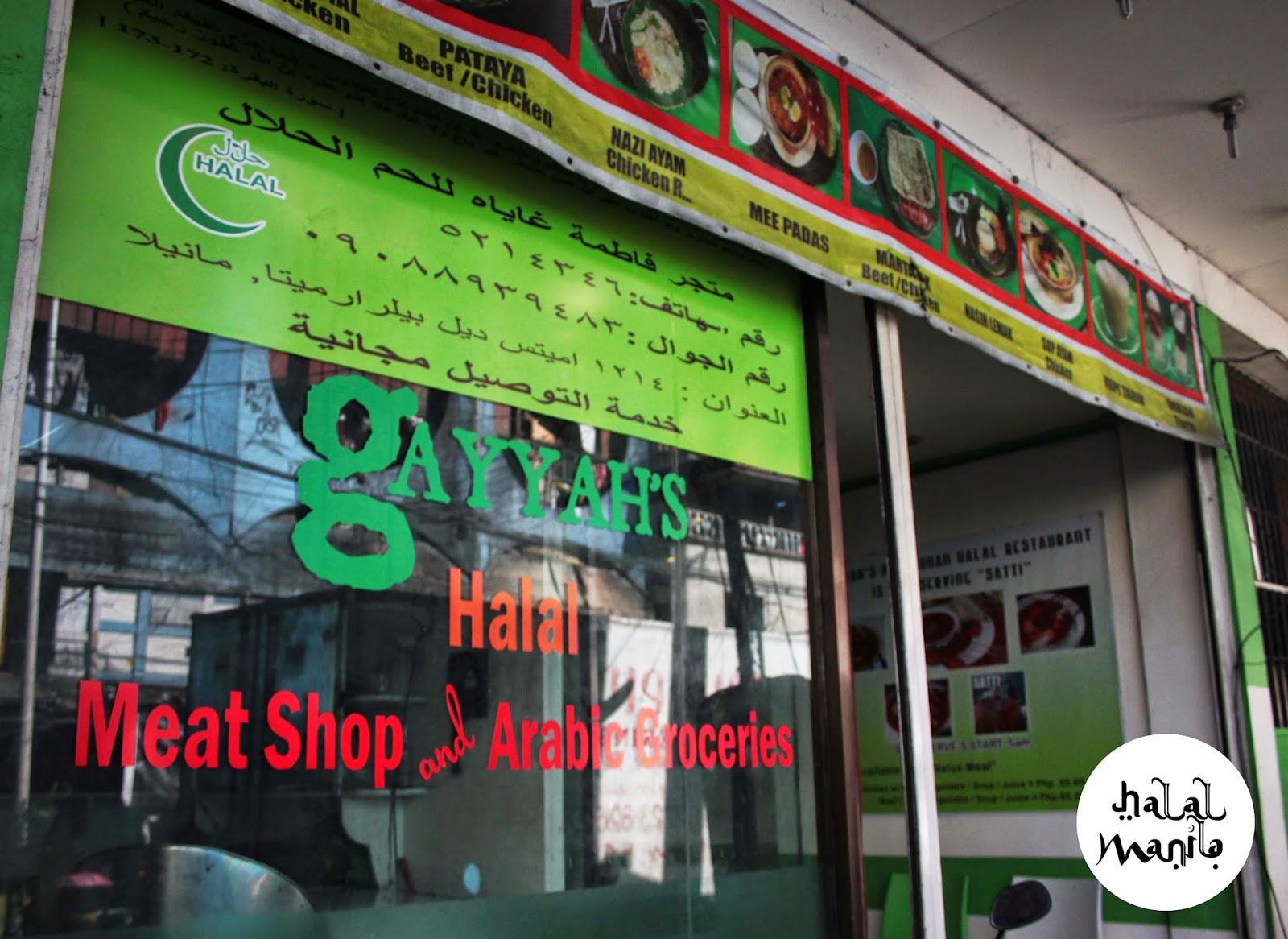 Halal food meats manila