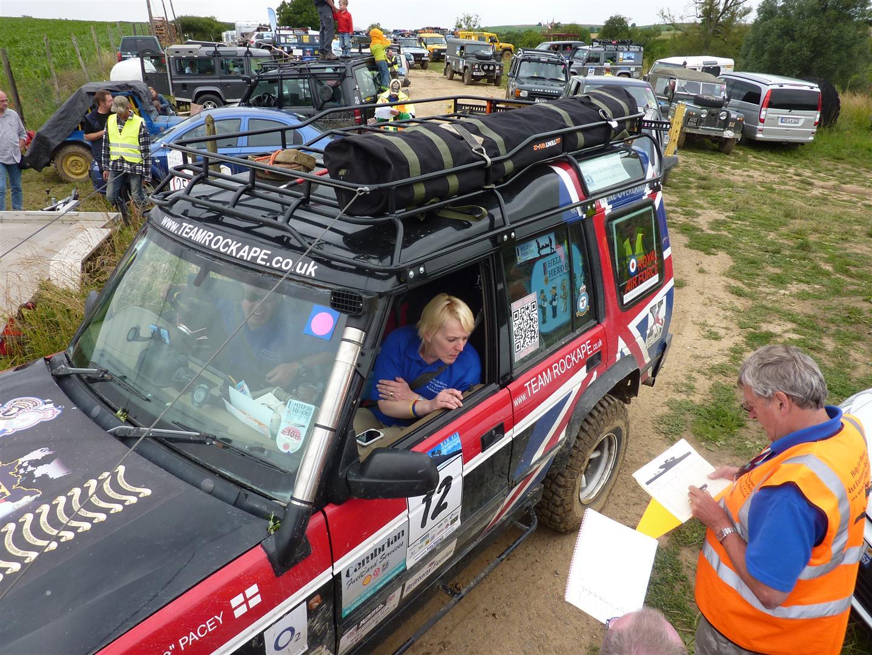 Ukmotortalk help for heroes 4x4 european rally 2012 for Charity motors 8 mile lahser